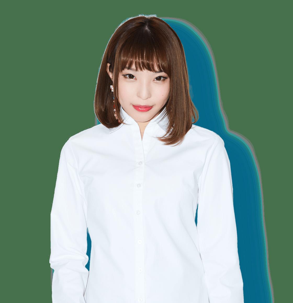 粕谷麻衣のシャツ画像